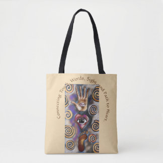 Heart Connection Tote Bag