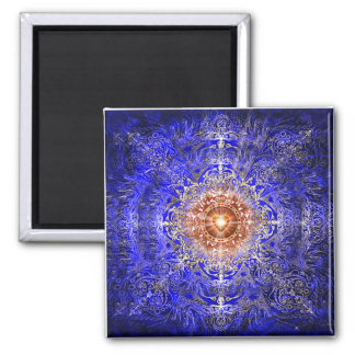 Heart Constellation 2 Inch Square Magnet