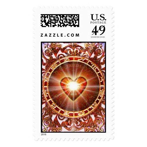 Heart Constellation Stamp