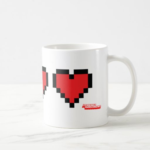 Heart Containers - Gamer, geek video games Life Coffee Mugs