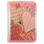 Heart cookies Kindle case