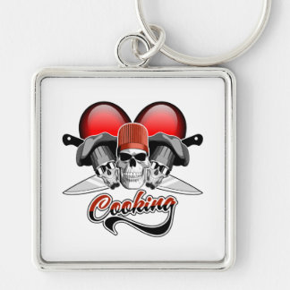 Heart Cooking Keychain