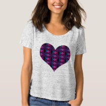 Heart Cool Pattern II Graphic Tee