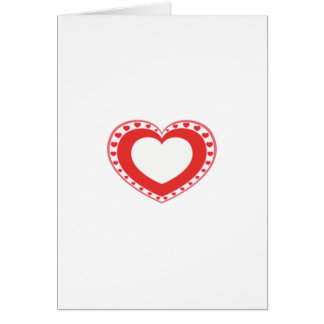 Heart copy greeting card