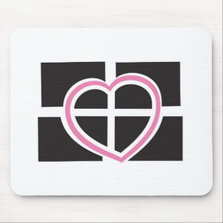 Heart Cornwall Mouse Pad