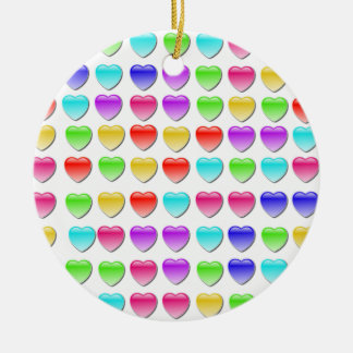 Heart Crash Games Christmas Ornament
