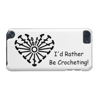 Heart Crochet Chart (I'd Rather Be Crocheting) iPod Touch 5G Case