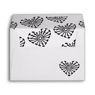Heart Crochet Chart Pattern (Tiled) Envelope