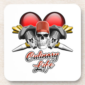 Heart Culinary Life: Pastry Chef Coaster