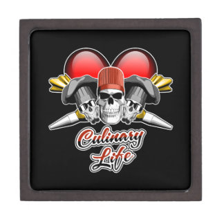 Heart Culinary Life: Pastry Chef Jewelry Box