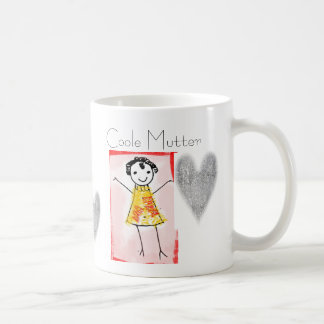 Heart cup of mother