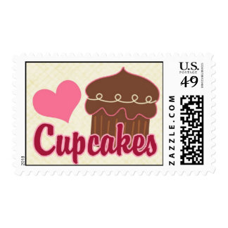 Heart Cupcakes Stamp