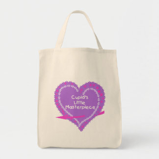 Heart Cupid's Little Masterpiece Canvas Bag