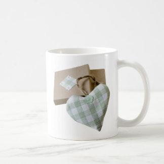 Heart Cushion Design Mug