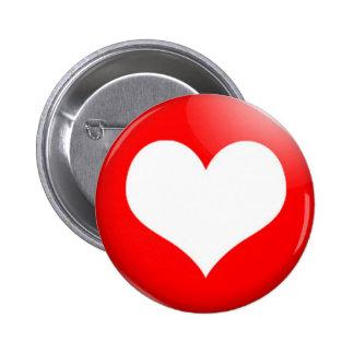 Heart Cut Out Button