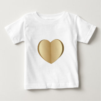 Heart cut out of paper baby T-Shirt