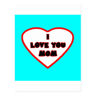 Heart Cyan Transp Filled The MUSEUM Zazzle Gifts Postcard
