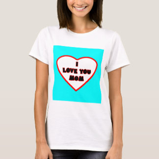 Heart Cyan Transp Filled The MUSEUM Zazzle Gifts T-Shirt