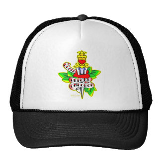 Heart & Dagger #2 Death Before Dishonor Trucker Hat