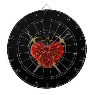 Heart & Daggers Dart Board