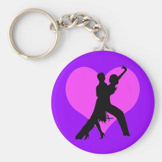 Heart dance keychain