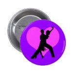 Heart dance pins