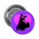 Heart dancers button