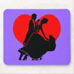 Heart dancers mouse pad
