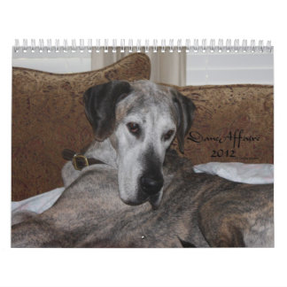 Heart Danes 2012 Calendar - Dane Affaire Edition