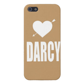 Heart Darcy tan iphone case