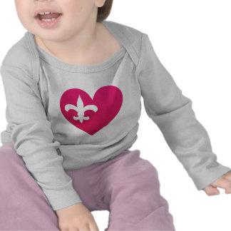 Heart de Lis Camisetas
