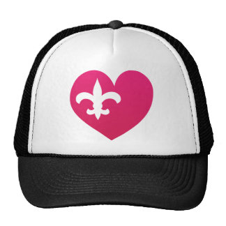 Heart de Lis Trucker Hat