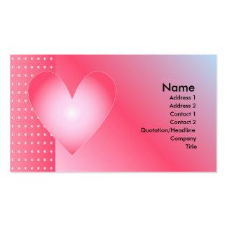 Heart Design Business Card