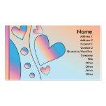Heart Design Business Card Templates
