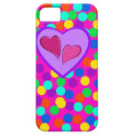 Heart design iPhone 5 covers