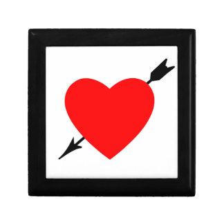 Heart Design Jewelry Box