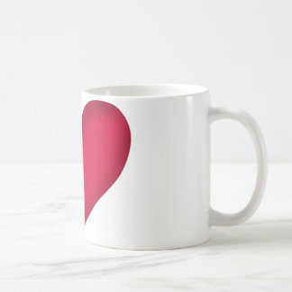 heart design mugs