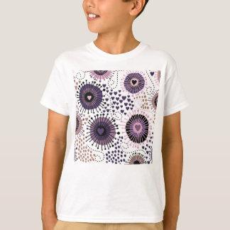 Heart design pattern T-Shirt