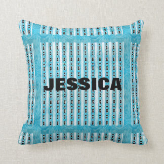Heart Design Pillow with Name