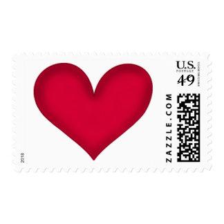 heart design stamp