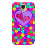 Heart design samsung galaxy s4 cases