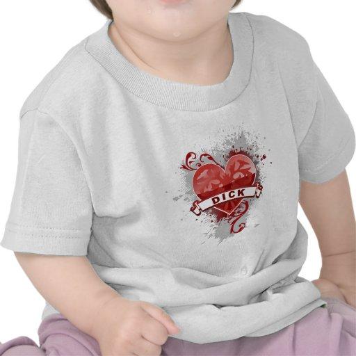 Heart Dick T-shirts