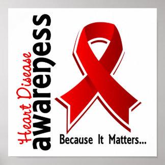 Heart Disease Awareness 5 Poster