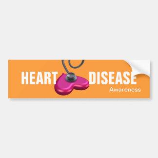 Heart Disease Awareness Bumper Sticker