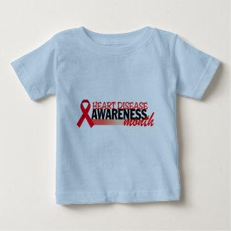 Heart Disease Awareness Month Baby T-Shirt