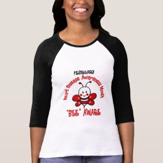 Heart Disease Awareness Month Bee 1.2 T Shirt
