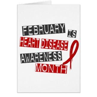 Heart Disease Awareness Month L1 Greeting Card