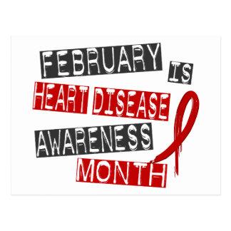 Heart Disease Awareness Month L1 Postcard