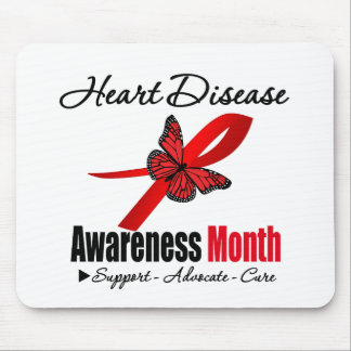Heart Disease Awareness Month Recognition Mousepad