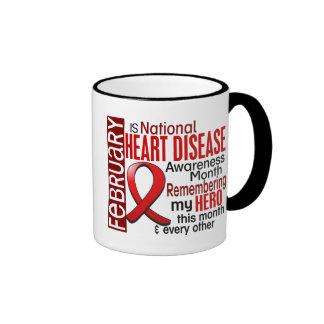 Heart Disease Awareness Month Ribbon I2.2 Coffee Mug
